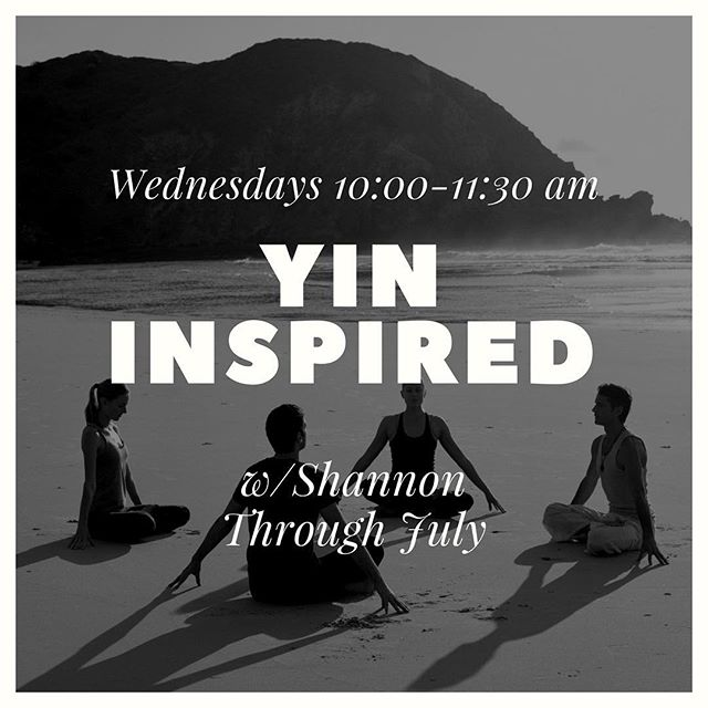 Join Shannon every Wednesday through June at 10:00-11:30 for Yin Inspired #yoga. . These classes are a long, slow, deep style of yoga. Done on the floor, Yin targets the connective tissues, ligaments and joints. It enhances flexibility, range of motion and allows for stillness of the mind. . #yogaonealex #downtownalx #exploremn #explorealex #likeitliveit #livingalexarea