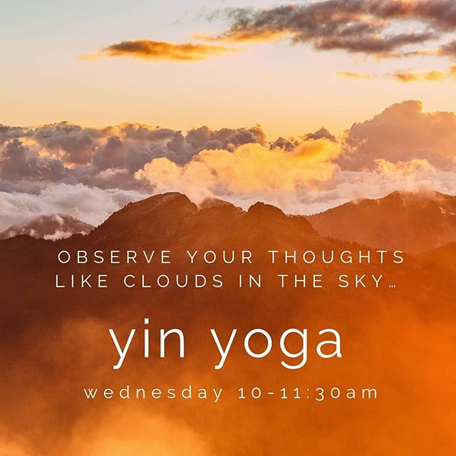 Yin Yoga is held each Wednesday 10-11:30am. . Yin is a perfect complement to more vigorous styles of yoga or any athletic workout which generally emphasize internal heat and the lengthening and contracting of our muscles. It is suitable for all levels - no prior experience is required. . #yogastudio #yogaonealex #yinyoga #mnyoga #livewideopenmn #yogainmn #onlyinmn #likeitliveit #downtownalx #explorealex #livingalexarea #exploremn