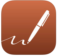 Notes Plus - When I got my first iPad, issued by the school in 2013, I put a lot of research into finding a good note taking app (there are a lot out there!) This one has served me well ever since and I get a lot of comments from people looking over my shoulder, saying 'your handwriting looks so good! You are only using your finger!?