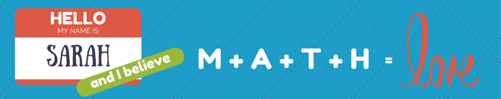 Blog: Math = Love - @mathequalslove's teaching blog and resource for teachers is full of a vast selection of materials for a variety of topics.