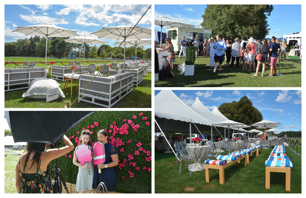 T&C VIP Tent at Greenwich Polo