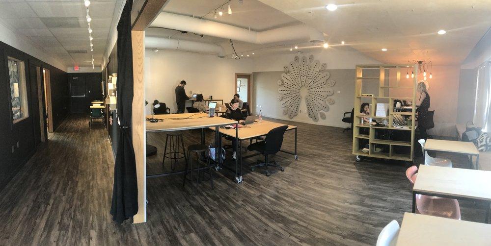 The Fellow Coworking Manhattan Kansas shared office space