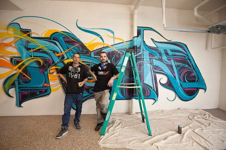Astro & Kanos private mural work