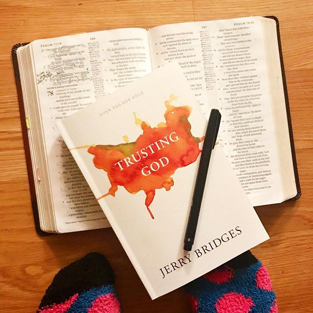 """Tonight I cracked open a book that I purchased by one of my favorite authors, out of desperation. My trust in The Lord has been rocky lately. I know the source and cause. And my flesh would have me believe that it's due to external factors """"beyond my control"""" and """"out of my grasp."""" But the stone, cold, hard, yet real truth, is my lack of trust in God, is all due to ME.  I'll be the one to say it: I THINK MY WAYS ARE BETTER THAN THE LORD'S. I THINK MY PATHS AND COURSES OF ACTION MAKE MORE SENSE THAN THE GOD OF ALL SENSE. And I don't like, that I often think and feel and see life through this lens of perspective over circumstances and situations before me.  As I began reading chapter one, I came across a Scripture that I had written a tiny note next to, in my Bible. The psalmist says in Psalm 77:19-20, """"Your way was through the sea, Your path through the great waters; yet Your footprints were unseen. You led Your people like a flock by the hand of Moses and Aaron."""" My note reads, """"His way is often wildly different from ours."""" Man…  The God of Israel, of all of creation, of the entire universe, of everything, could've easily dried up the Red Sea and let His people on through back in Exodus. But He chose to part the waters, and bring them through, instead. You know what this tells me? That God doesn't have to explain to me why He does things the way He does them. Even if I feel like my feeble attempts and plans and paths, are better calculated than His, with my finite self.  If there's anything I'm learning, it's that I'm more prideful than I would ought to believe and admit. And God is more gracious, more patient, and more good to His people, in the work of His hands, than I am able to fully grasp. When God says He's good, you believe Him. Not because what is going on around you is going to change instantly. But because God doesn't. And as my pastor would say, """"You can take THAT, to the bank!"""""""