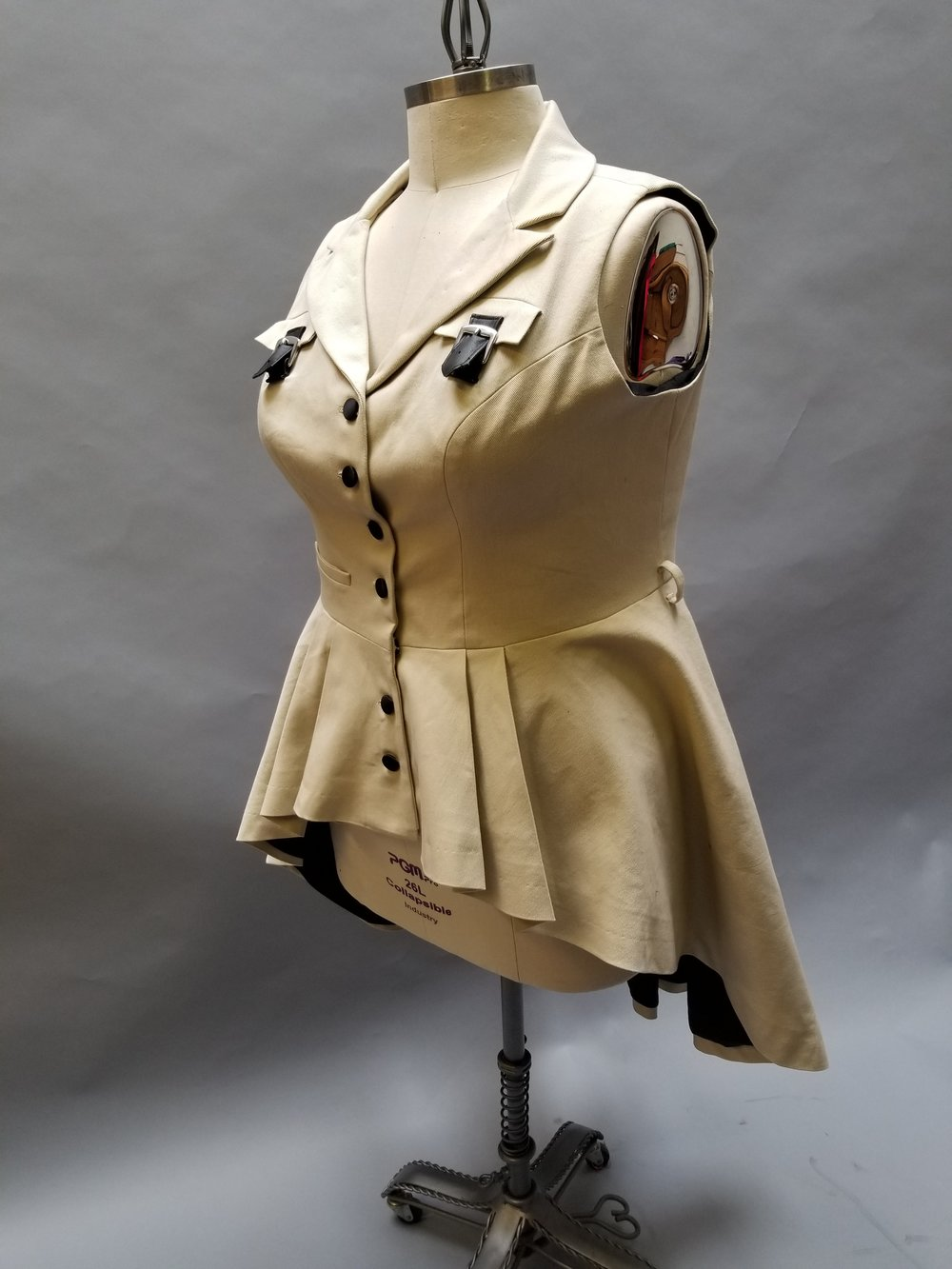 custom womans steampunk jacket