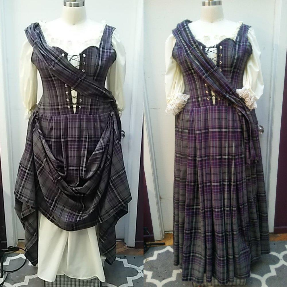 outlander dress