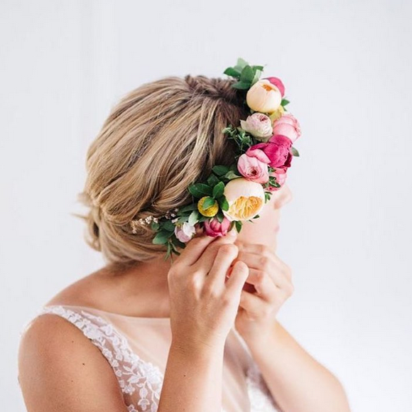 Aurora Floral Studio Brisbane Flower Crown Workshop Bridal Hens