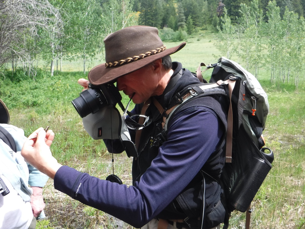 Scott Fitkin  , District Wildlife Biologist for Washington Department of Fish and Wildlife.