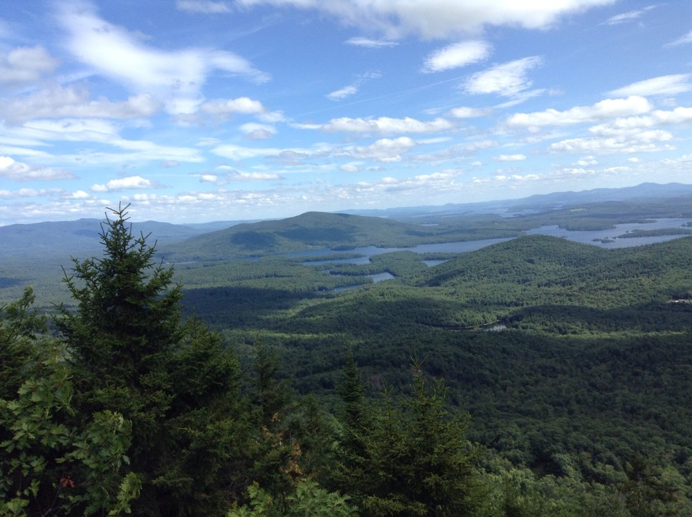 View from Mt. Percival, NH