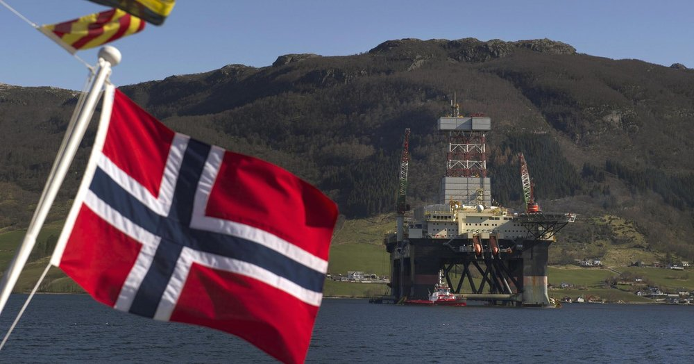 Oil rig in Norway. Photo courtesy of  CNBC.