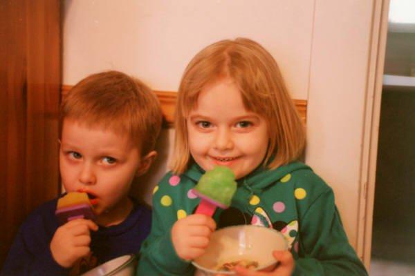Myself and my sister, Abby