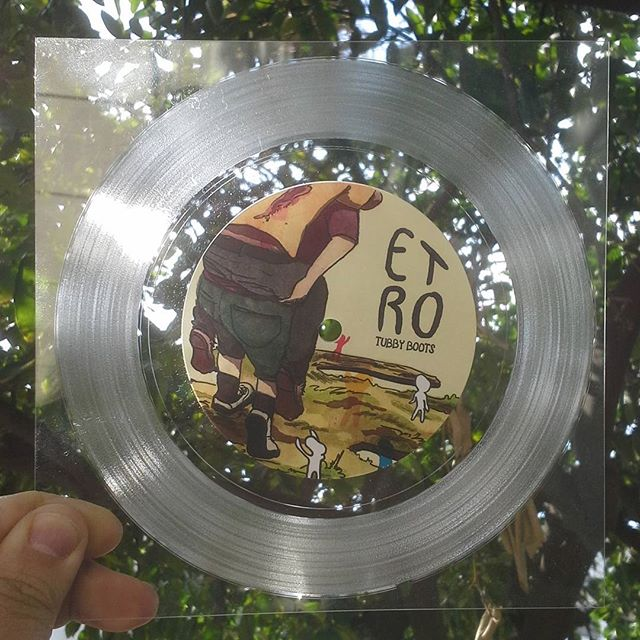 """Shit just got real.  7"""" semi-flexis start shipping next week from @mental_illnessrecordings  A-side - Etro Miter / B-side - Durham"""
