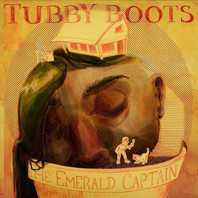 "We are beyond thrilled to announce that our debut full-length record ""The Emerald Captain"" has finally been released into the world!!!! Download the record at tubbyboots.bandcamp.com to get the special album companion. Also available now on Spotify, iTunes, Apple Music, and all of the other streaming platforms.  You can read more about the ""The Emerald Captain"" release here: www.tubbyboots.com"