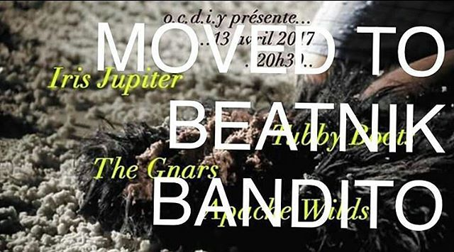 Tonight at @beatnikbandito!