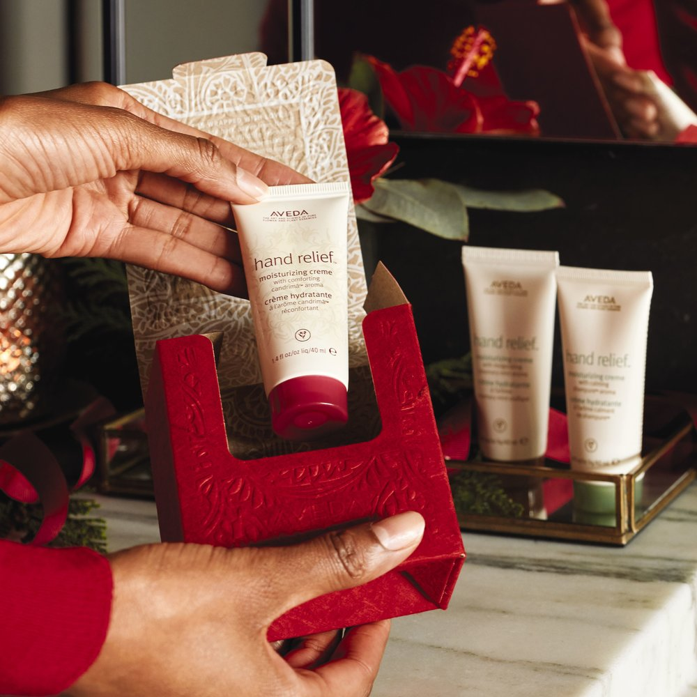 Renewing Journey $21 (20% savings) - Hand Relief cremes in Candrima, Shampure, and Rosemary Mint aromas.