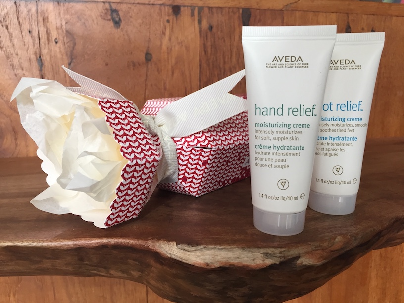 Sweet Relief Stocking Stuffer $18 - Hand and Foot Relief stocking stuffer sizes.