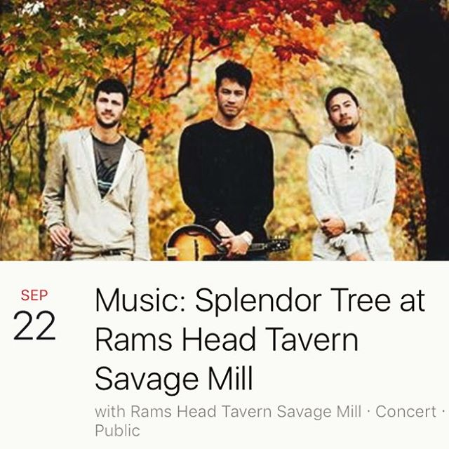 Playing at Rams Head Tavern tonight🙏👌9:30-1:30am