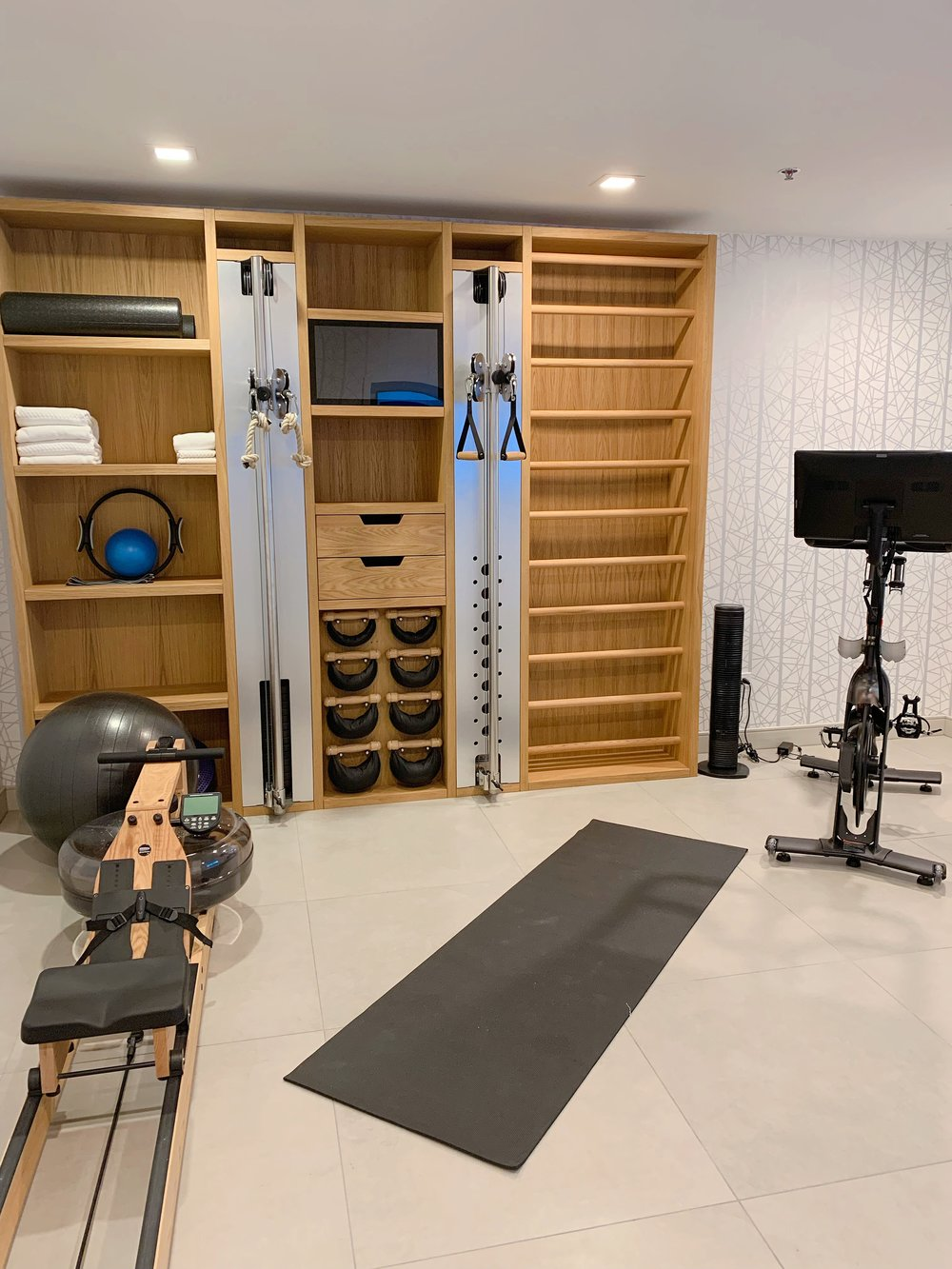 WellBeing Wall + In-Suite Gym
