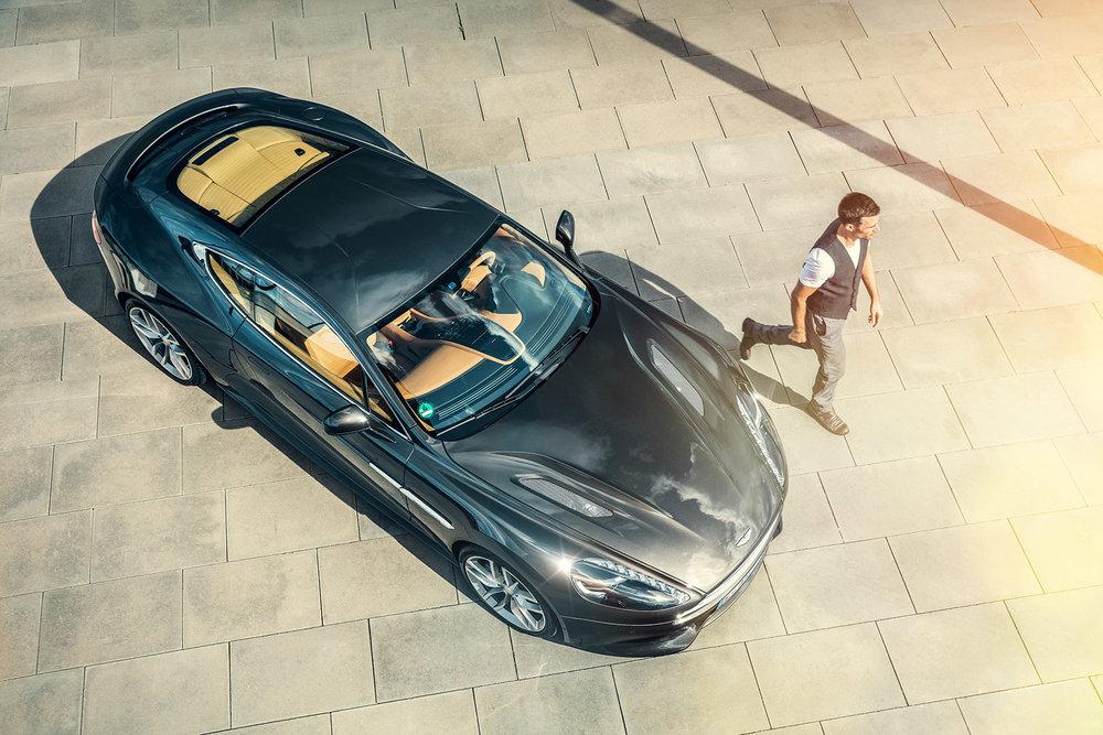 Aston Martin Vanquish_Retouching