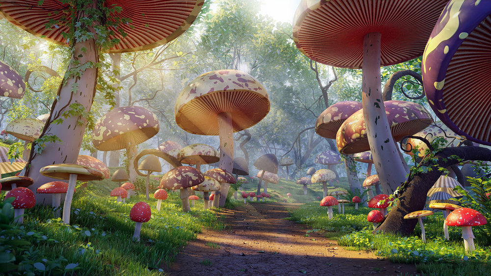 Mushroom Forest_Digital Environment