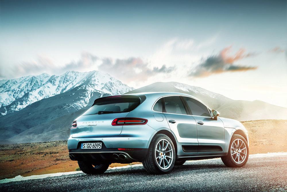 Porsche Macan S_Retouching