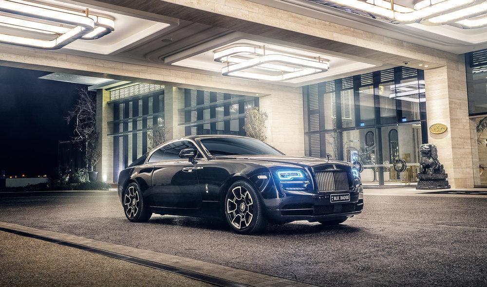 Rolls Royce Wraith_Retouching