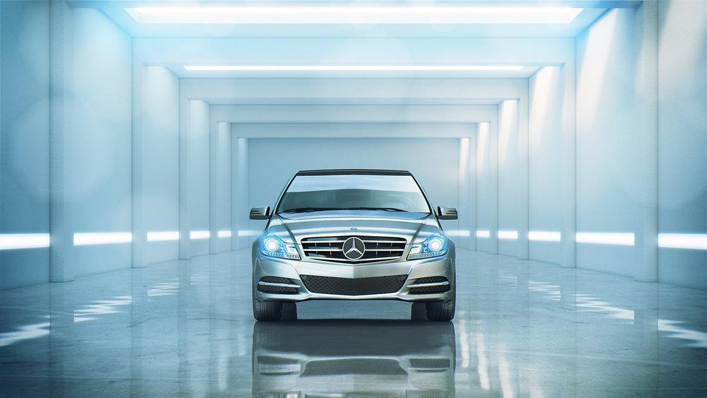 Mercedes C class_CGI