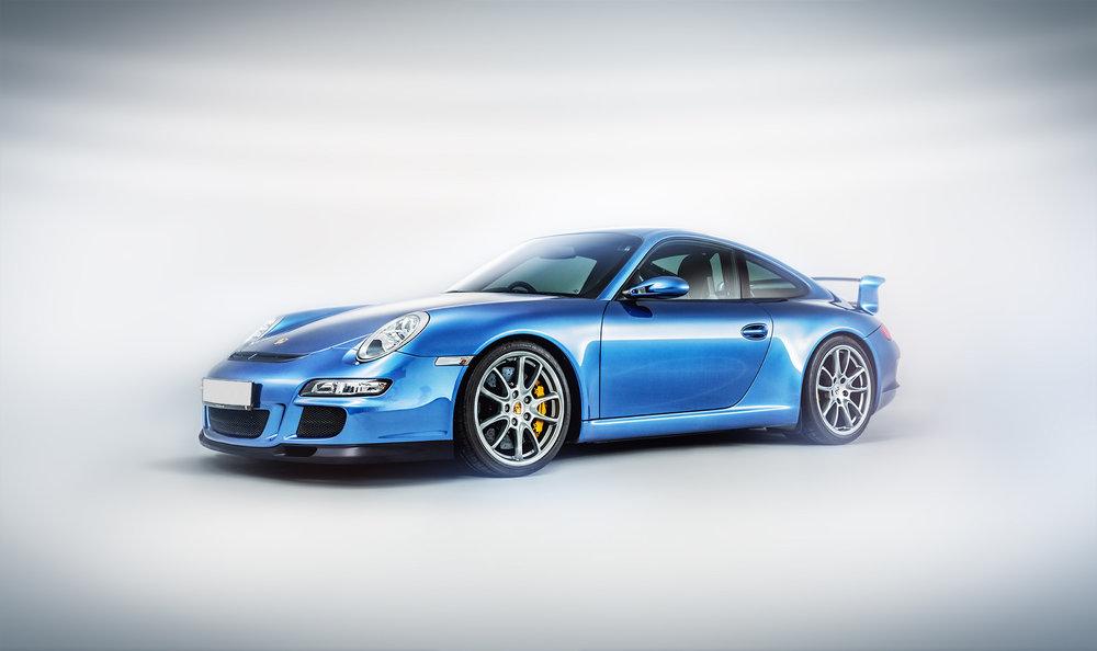 Porsche GT3_Retouching