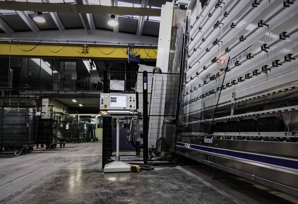 Edge Processing Line in Formator