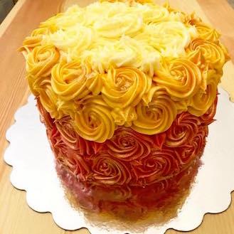 Rose Gold Rosette Cake.jpg
