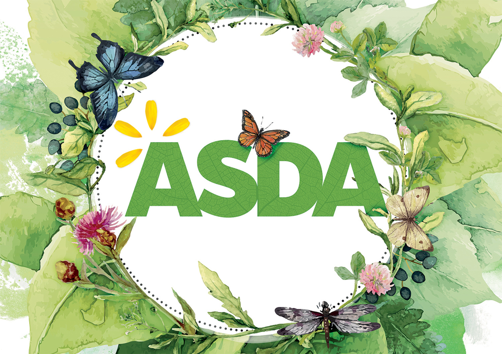 the garden bed in partnership with asda