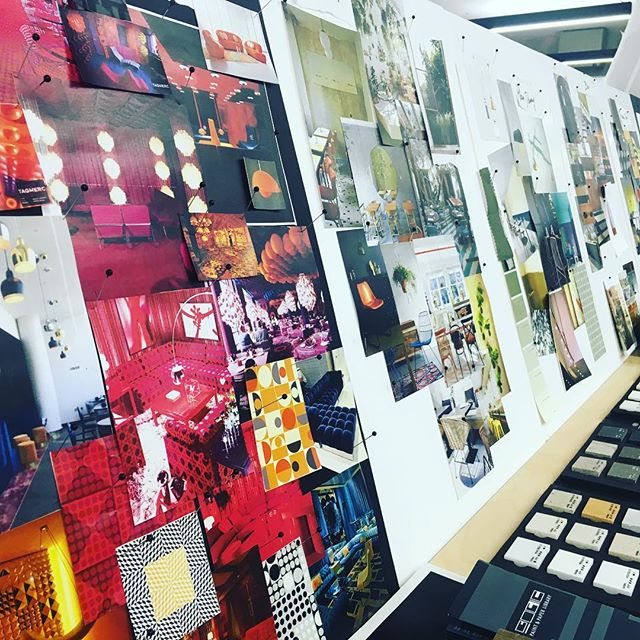 Our pin boards down in the Creative Projects studio are starting to come together #busy #inspiration #london #designstudio #creativeprojects #architecture #design #interiordesign #branding #experiences #experiential #property #designers #creative