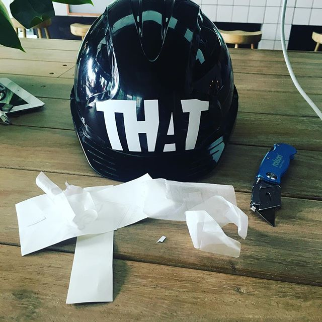 Because THAT Group can never just leave things as they are #tinkering #pimpmyhat #bournemouth #londoneye #designstudio #creativeprojects #architecture #design #interiordesign #branding #experiences #experiential #property #designers #creative