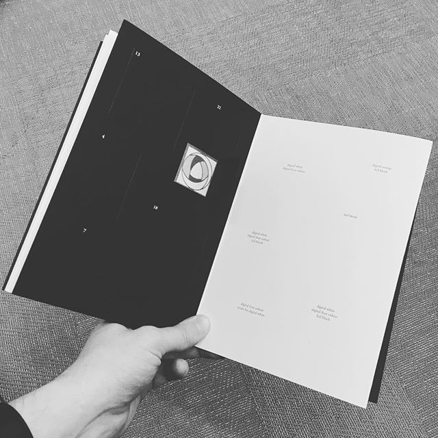 Enjoying our @dayfoldprint advent calendar, today we got Foil Block! #foilblock #GFSmith #paper #colourplan #qualityprinters  #design #architecture #interiordesign #branding #identity #space #experiences #developer #creatives #creativeprocess