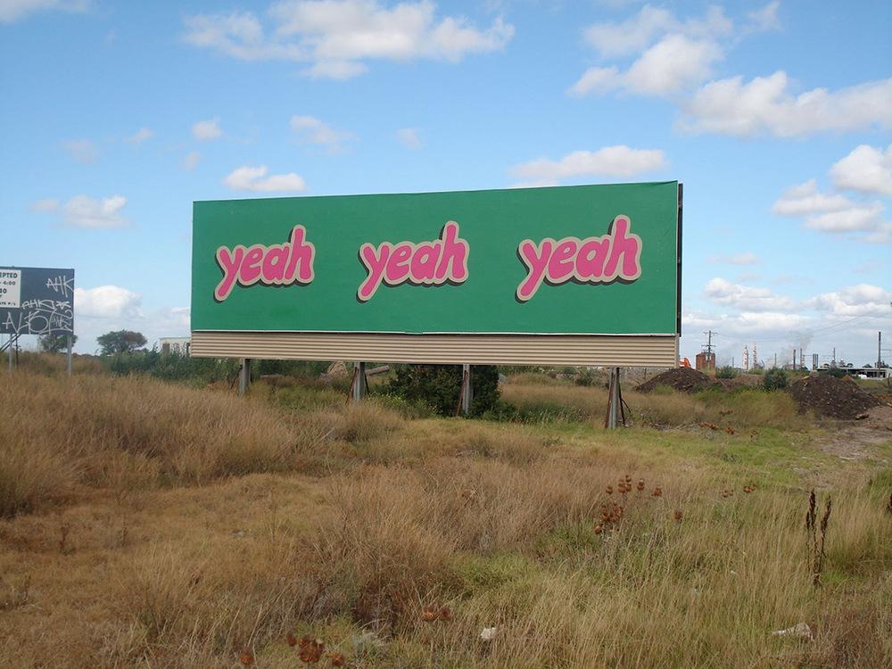 Yeah Yeah Yeah, (billboard)