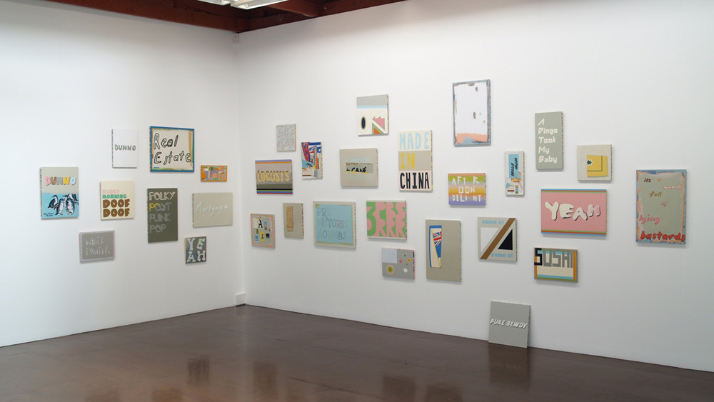 Pure Bewdy, installation view