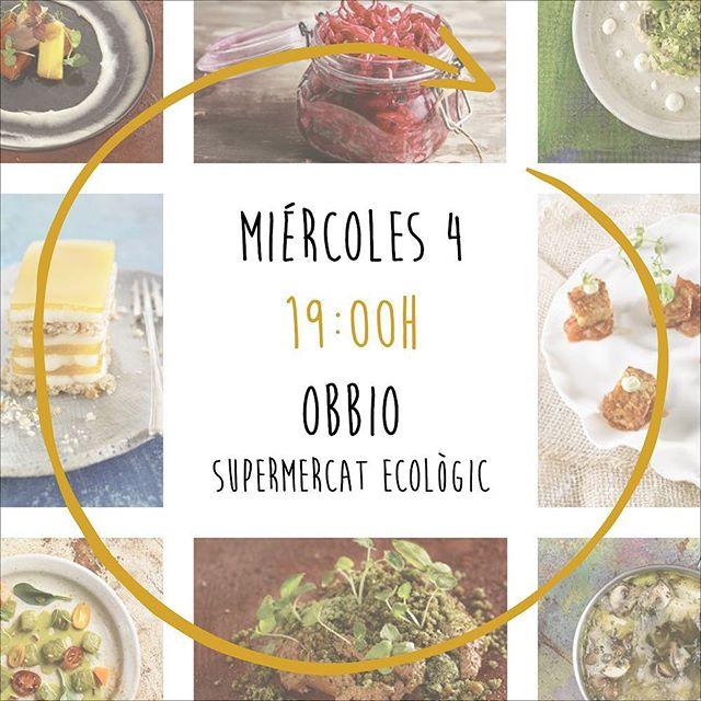 El miércoles que viene tenemos la presentación oficial de Vegan Gourmet en @obbio177 !! Estáis todas y todos invitados!! Podéis traer a quien queráis! Os daremos de merendar!!!! Un abrazo!!