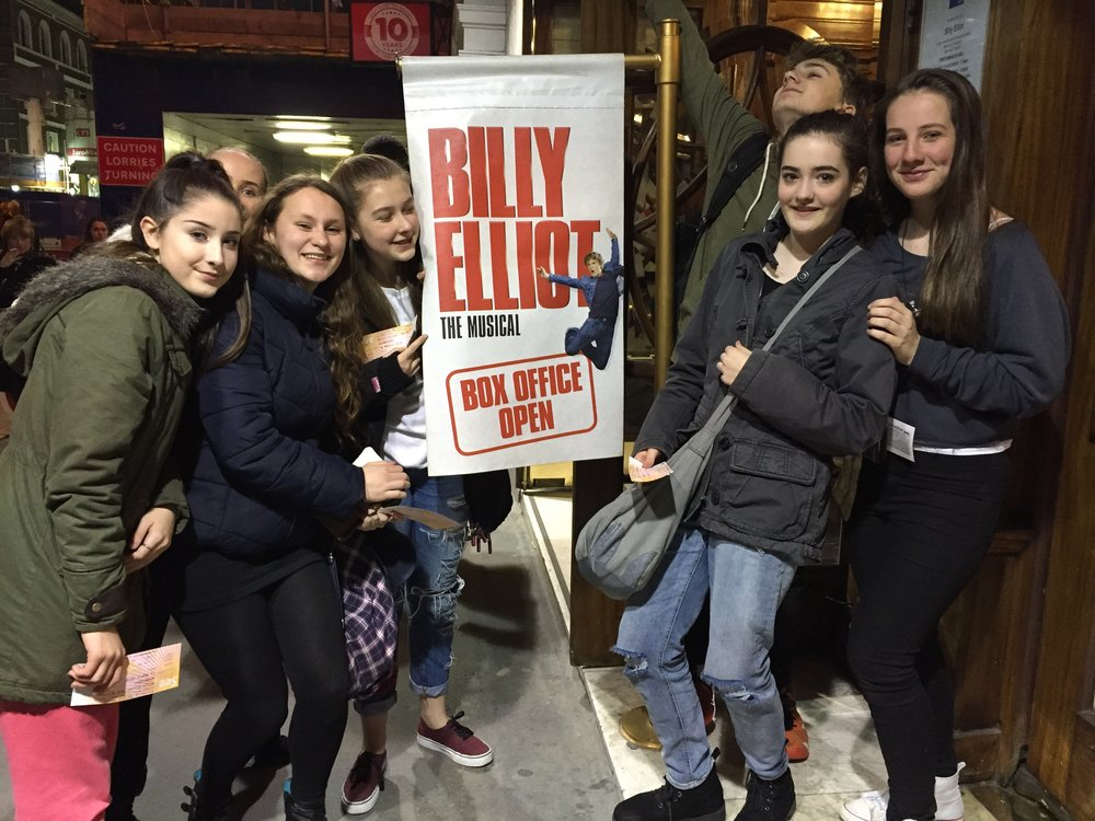 We saw Billy Elliot last March which featured past ITW teacher Sharon Sexton in the cast!