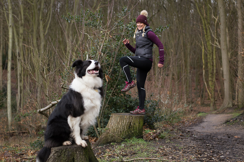 Keep Fit on A Dog Walk