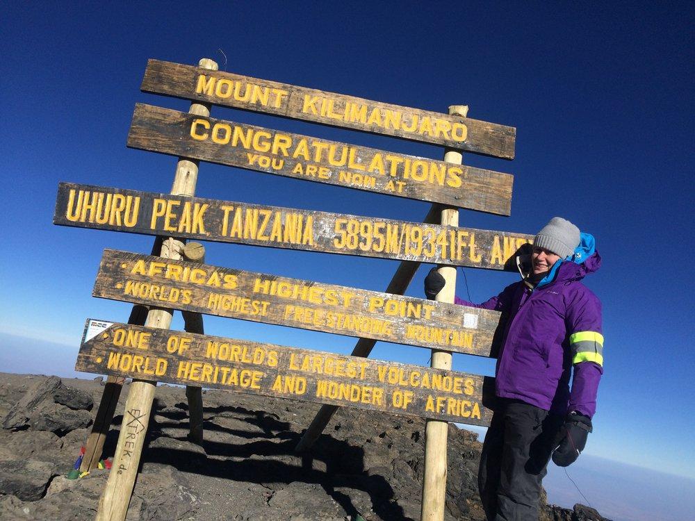 Lucy Wheeler Kilimanjaro