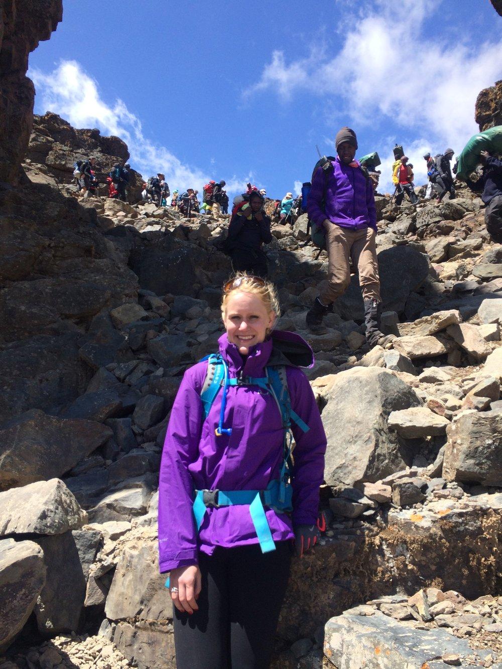 Climbing Kilimanjaro, acclimatisation day