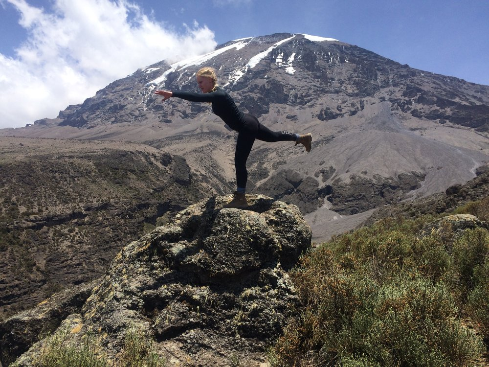 Yoga on Mount Kilimanjaro