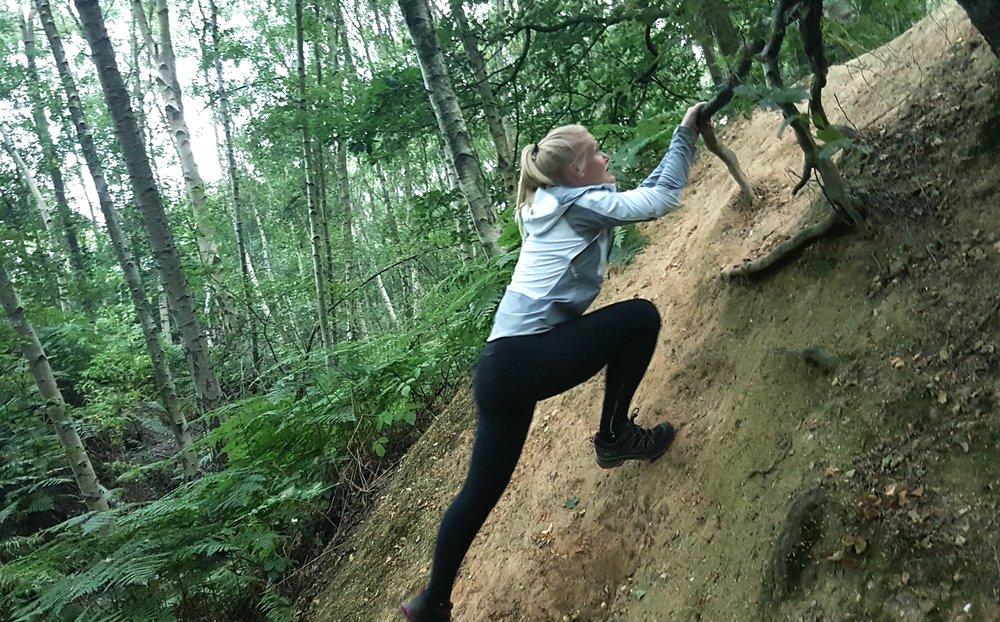 Climbing in Berghaus GTX Shoes