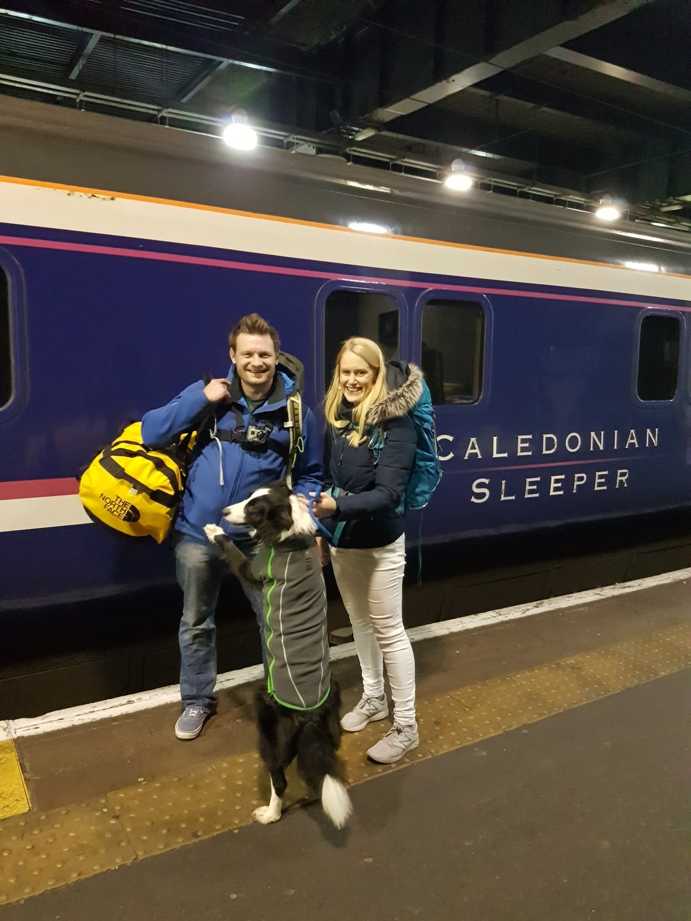 Jump on the Caledonian Overnight Sleeper to Scotland for a weekend of Adventure in the Mountains