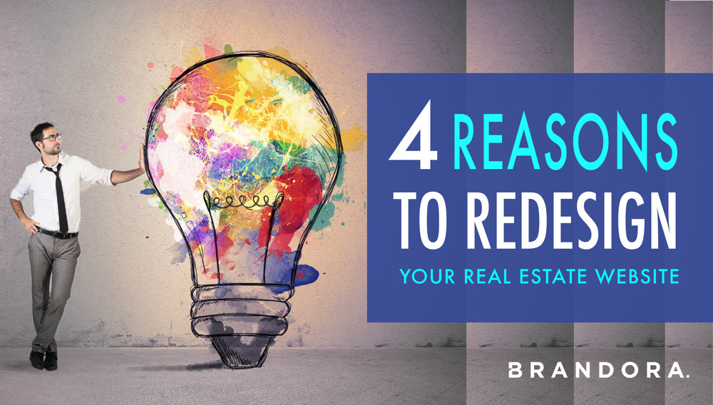 4 reasons to redesign your real estate website