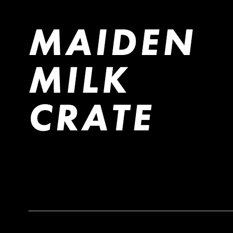 Maiden Milk Crate