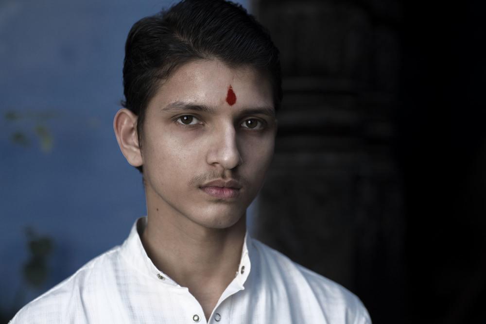 Nepalese brahmin student