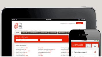 Branding and website design for myfuturerole.com