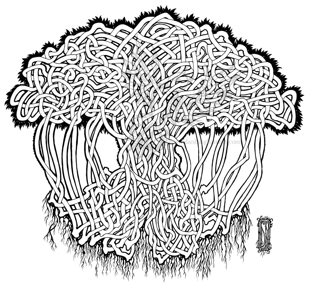 Celtic Knot Tree