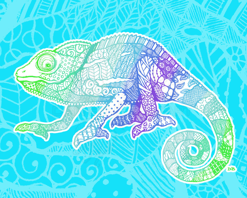 Zen Chameleon